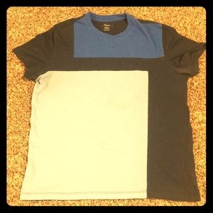 Alfani Blue Block T-Shirt